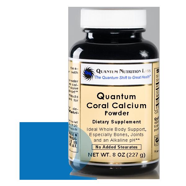 Coral Calcium (8 oz); Quantum