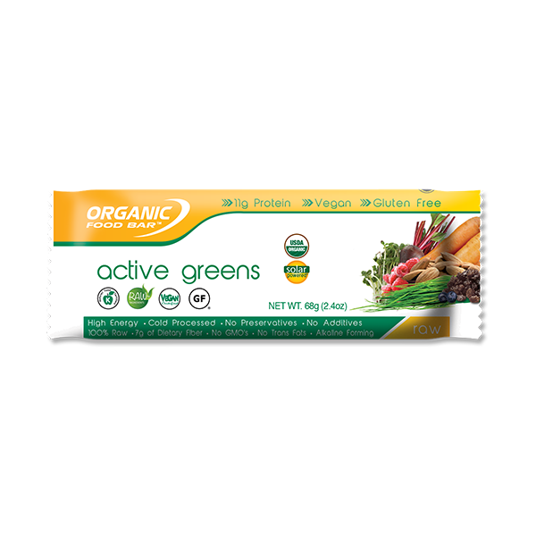 Active Greens Organic Food Bar