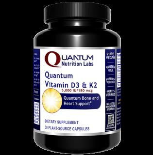 Vitamin D3 & K2, Quantum