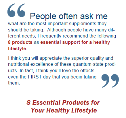 Healthine Radio Show 8 Essential Supplements
